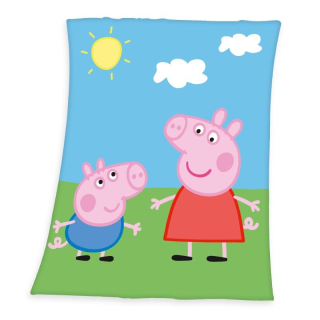 Fleece deka Peppa Pig 130/160